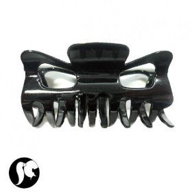 SG Paris Claw Clip 13.5Cms Black Shiny Noir/Jet Hair Clips Claw Clip Plastic Summer Teenager Zother Basic Fashion Jewelry / Hair Accessories Z Others $2.99