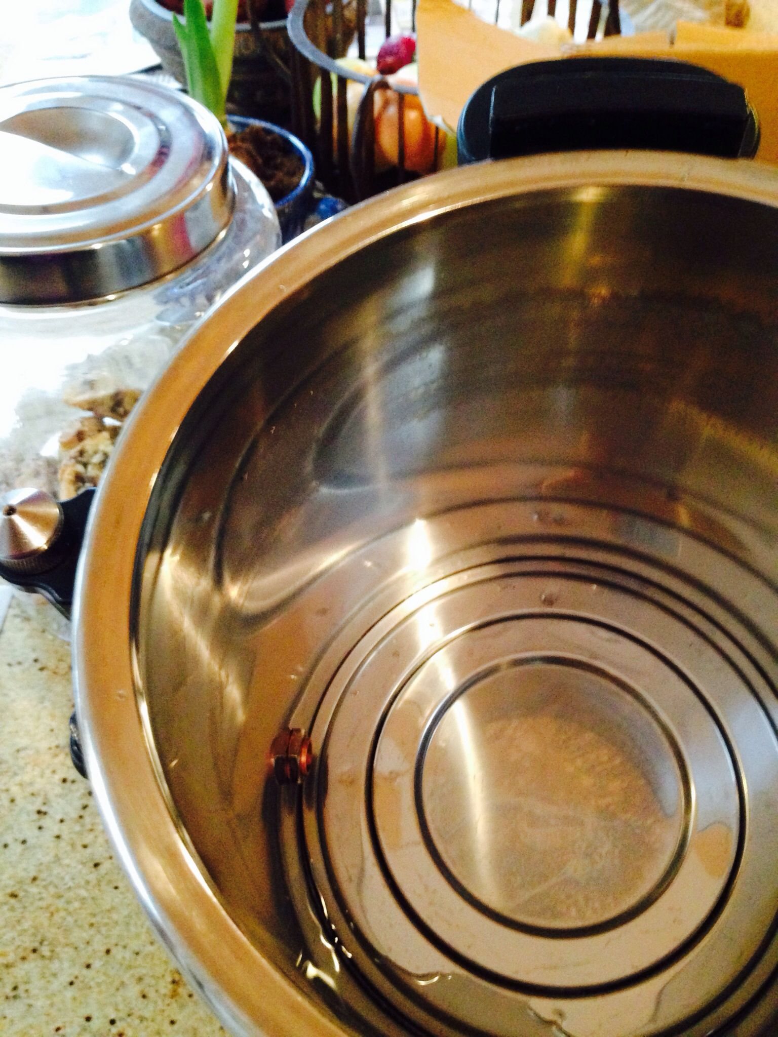 Amazing tip. Clean the calcified inside of a hot water urn with 2 ...
