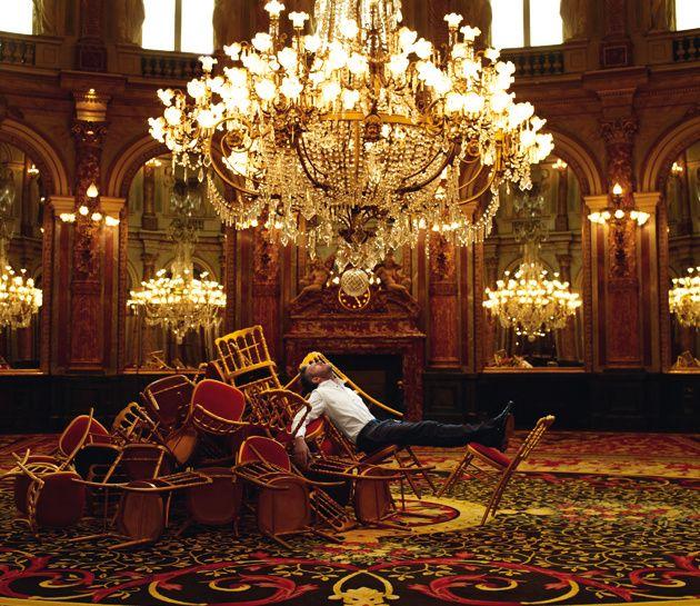 Vincent Cassel, en el saló Ópera de Le Grand