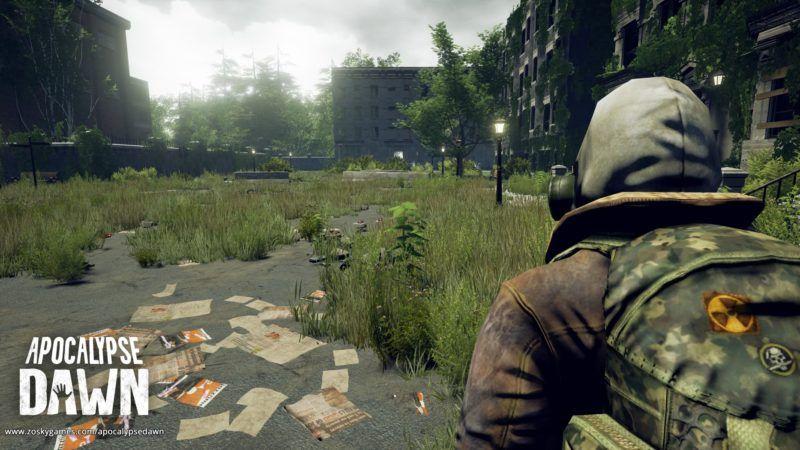 Die Natur holt sich die Stadt zurück. (Apocalypse Dawn) #apocalypsedawn #zombies #survival #survivalgame
