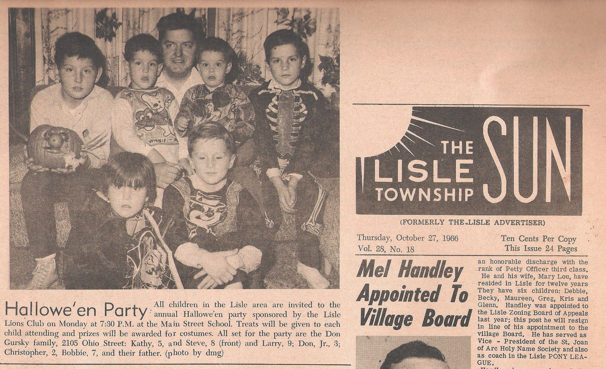 The Lions Club, of Lisle Illinois - Annual,