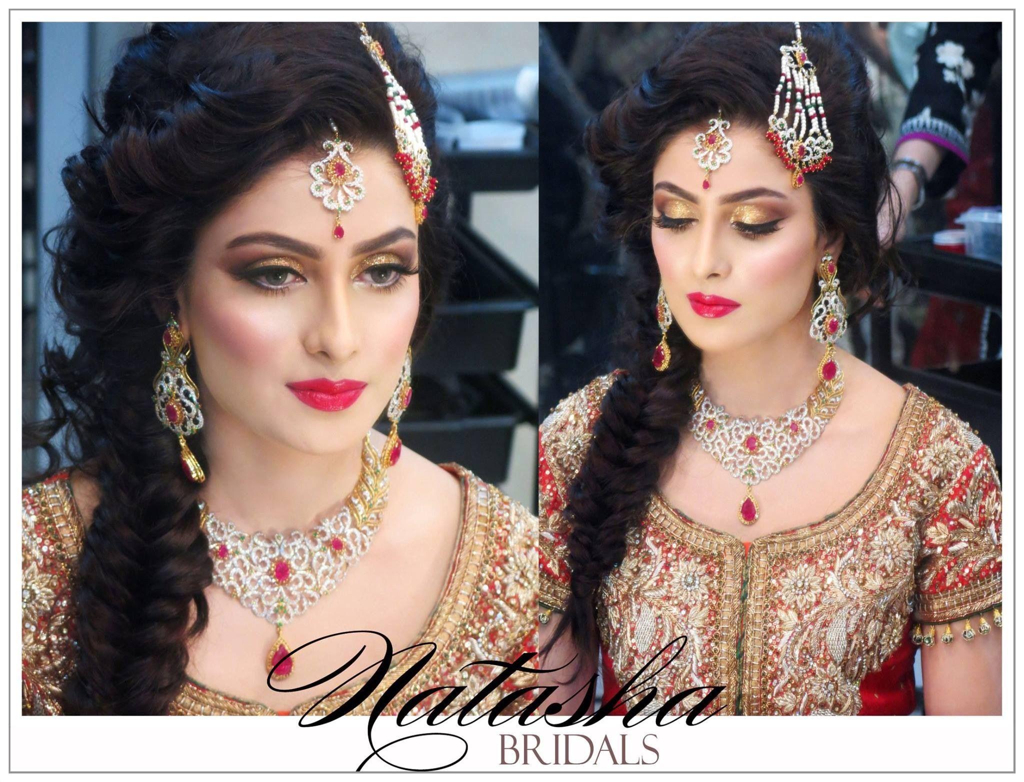 phenomenal job done by natasha salon on #ayezakhan #iheartnatasha