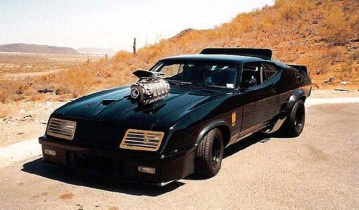 The Ford Falcon Car From Mad Max And The Road Warrior Cars Movie