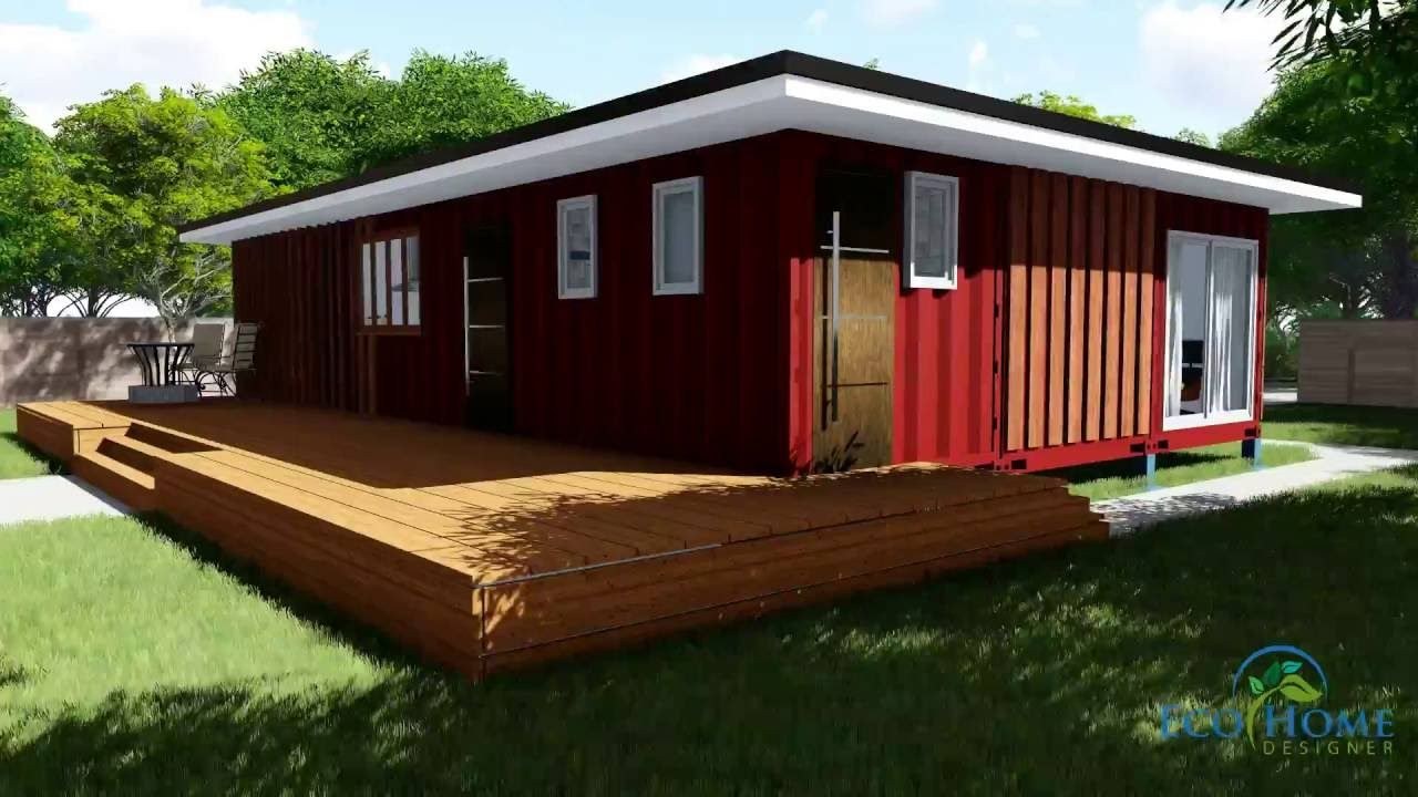 SCH11 3 x 40ft 2 Bedroom Container Home video YouTube
