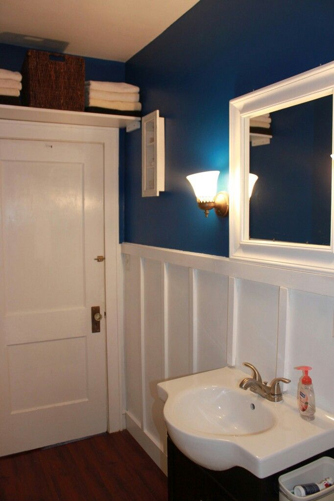 Closet door paint color Sherwin williams downpour ...
