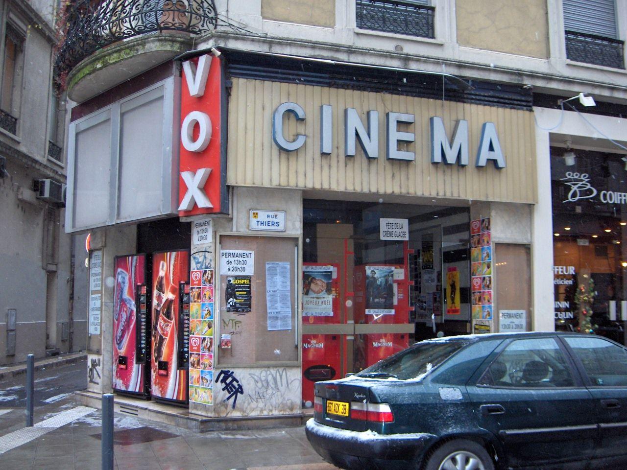 Cinema Vox Ex Lux Grenoble Grenoble Cinema Facade