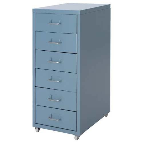 Helmer Cassettiera Con Rotelle.Helmer Drawer Unit On Casters White Ikea In 2020 Drawer Unit Drawers Ikea
