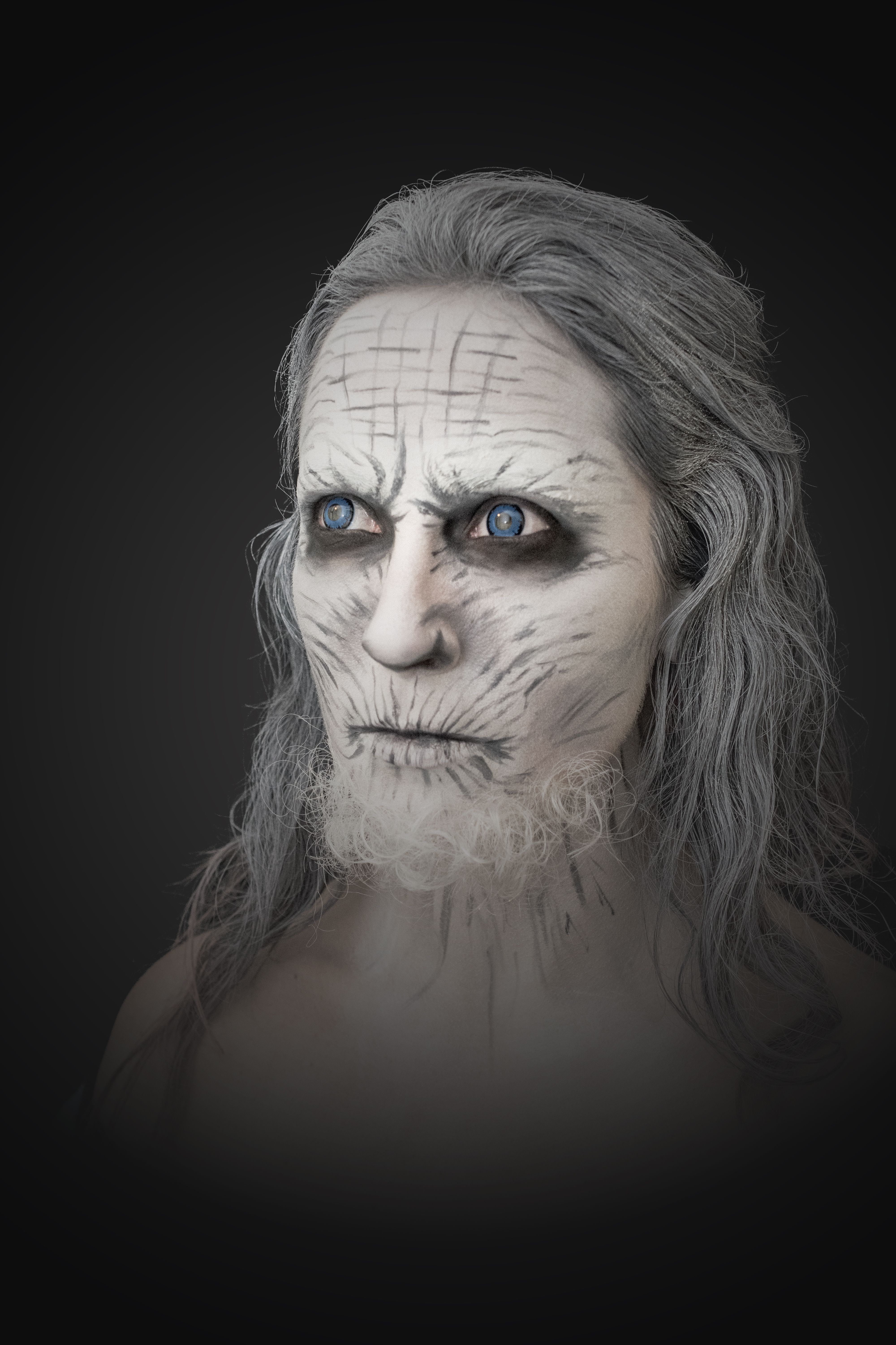 White Walker from Game of Thrones by Bianca Bonjour