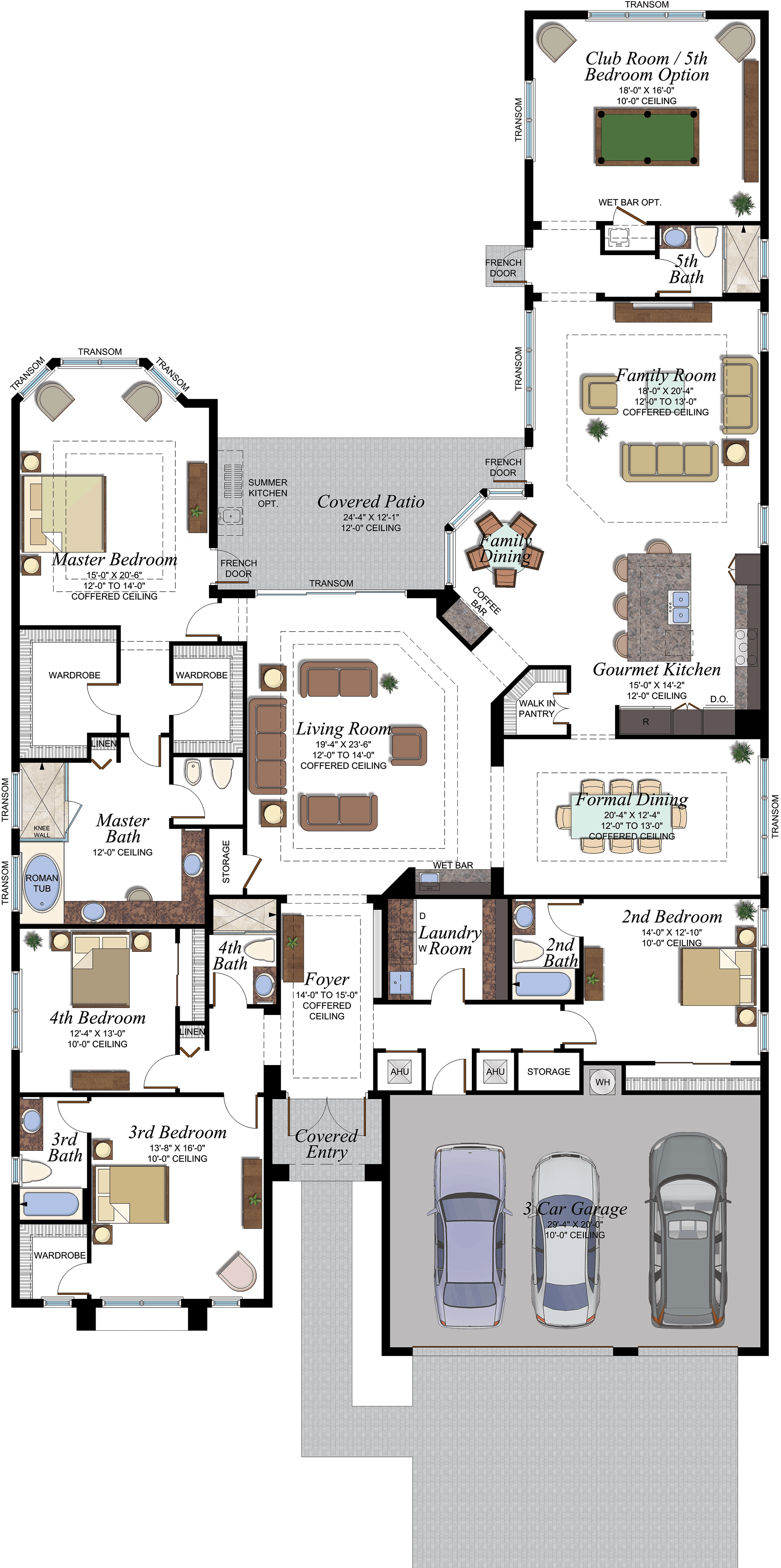Charleston Grande Floorplan is part of Floor plans -