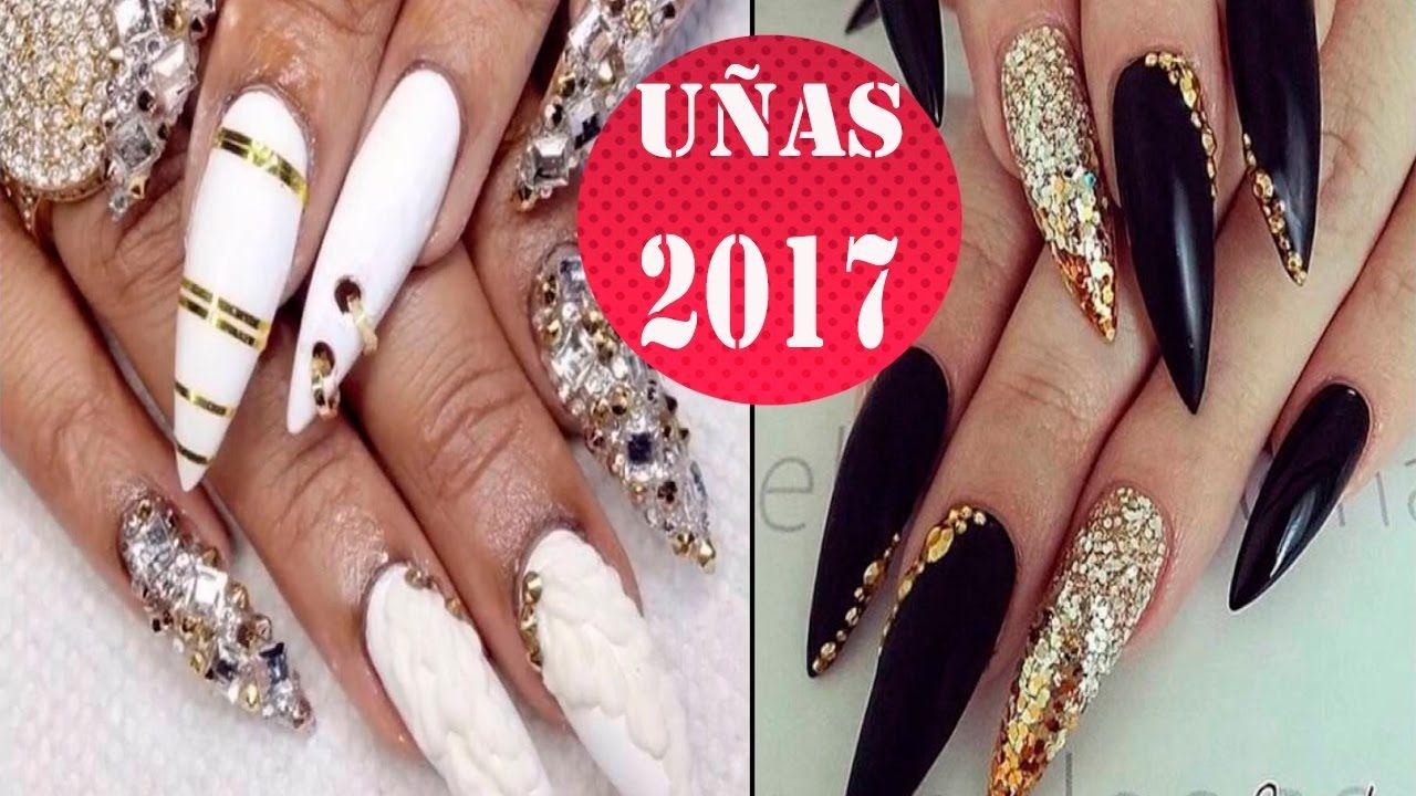 Uñas Acrílicas De Moda 2017 Paso A Paso Uñas Acrilicas De