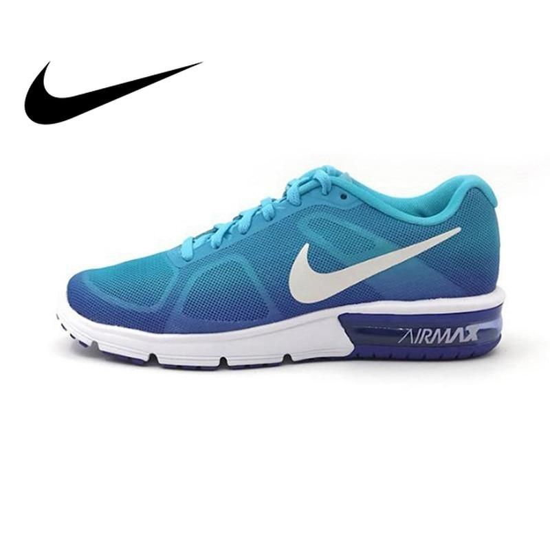 best service 5c207 41994 Original New Arrival NIKE AIR MAX SEQUENT Women's Running Shoes Walking  Lace-Up Cushioning Comfortable