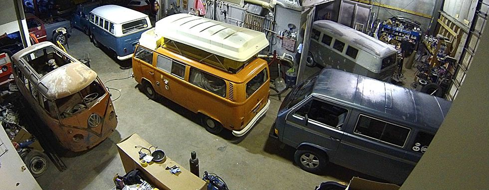 Jeremy Cutts. Idaho Falls...Volkswagen Bus Many Volkswagen Buses in