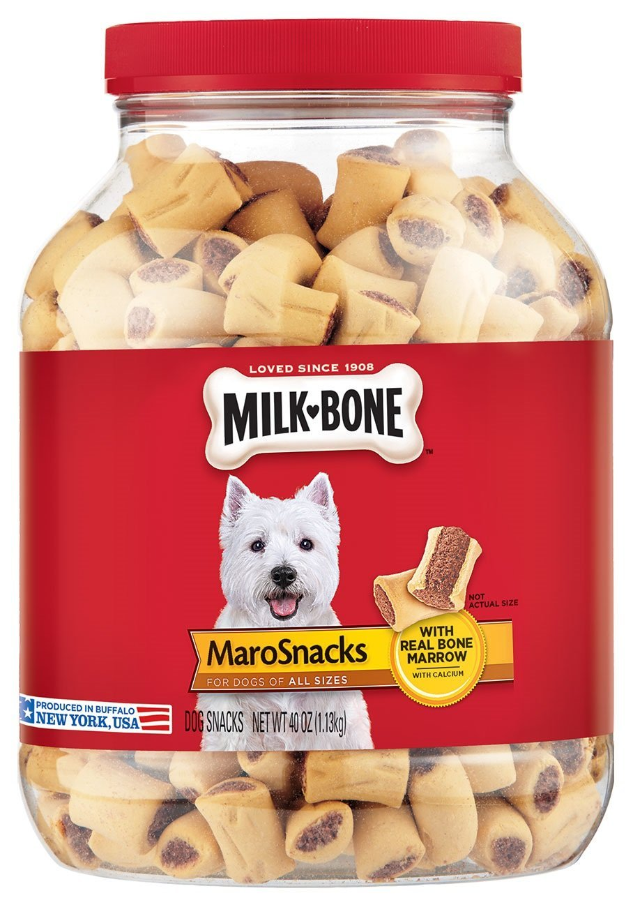 Milk Bone Marosnacks Dog Treats For All Sizes Dogs 40 Ounce