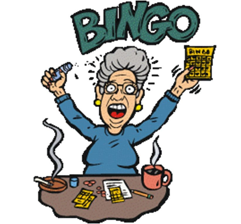 Why do you play bingo when you never win? Well, I get to ...