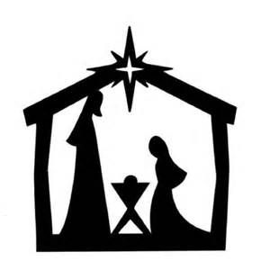 image about Nativity Silhouette Printable referred to as Printable Nativity Silhouette Clip Artwork - Bing shots