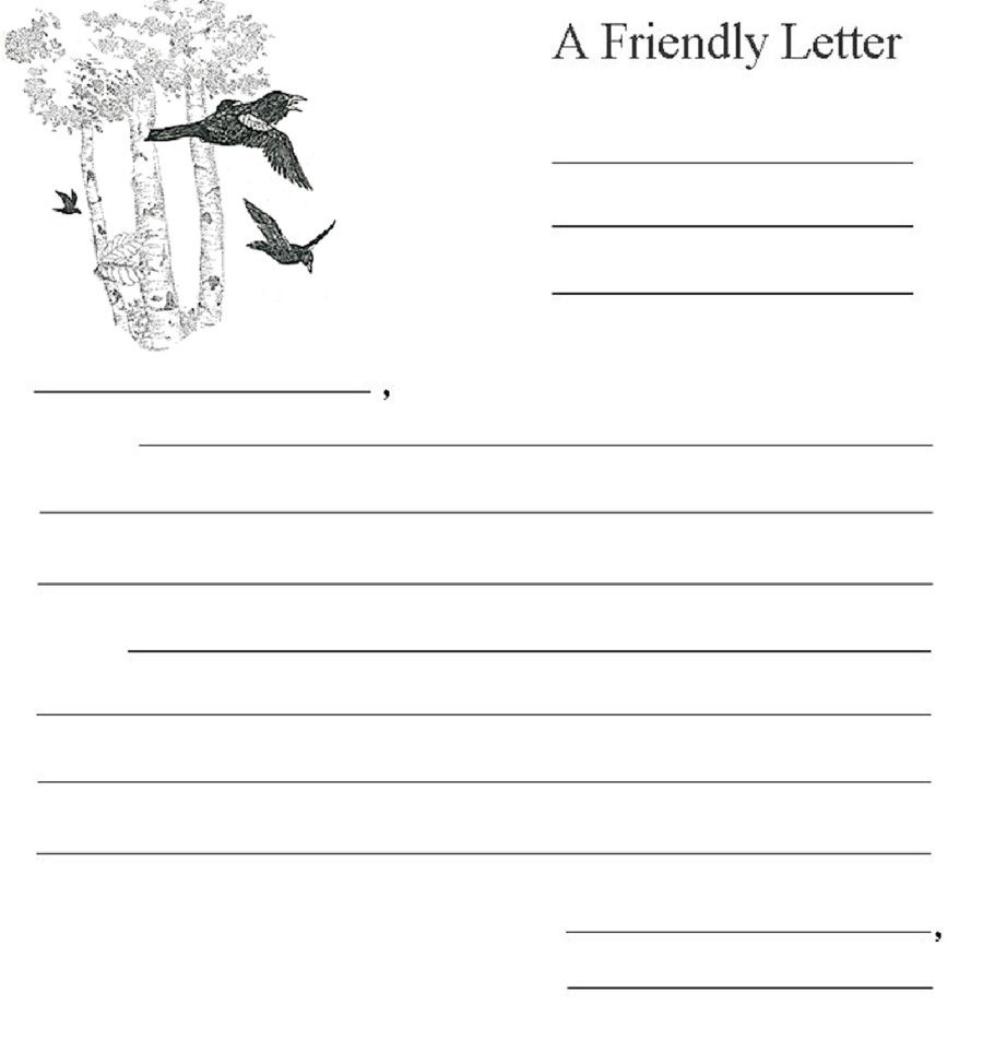 Friendly Letter Format Pdf from i.pinimg.com