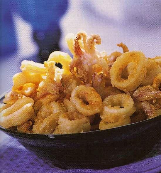 Calamares fritos ricetta recetas en espa ol for Ricette spagnole