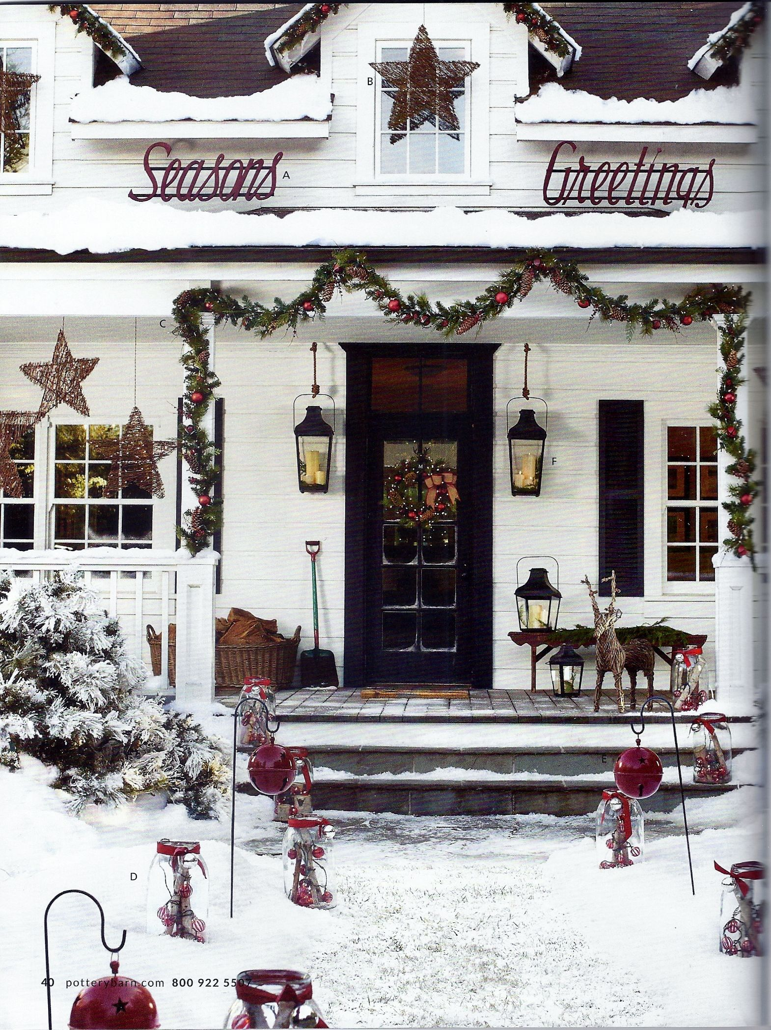 Merry Christmas Decorations Outdoor : Outdoor christmas decor merry