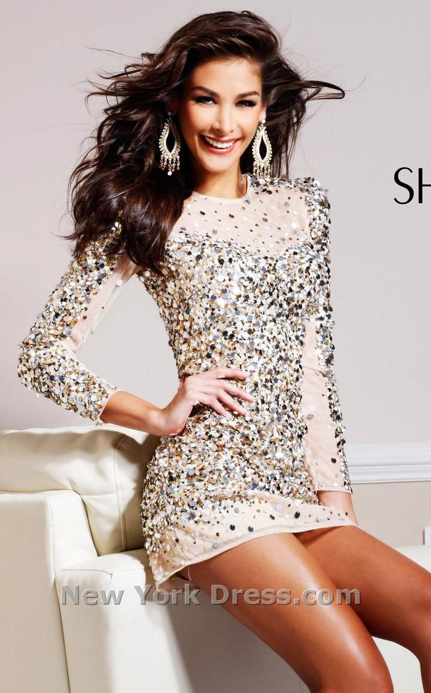Sherri Hill 8421   Clothes- Dresses   Pinterest   Illusions, Mini ...
