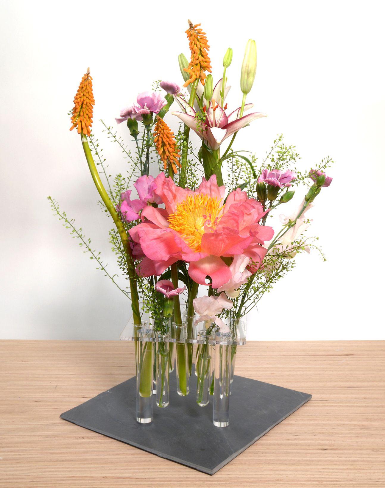 Große Blumenvase frische ideen für deine tischdeko