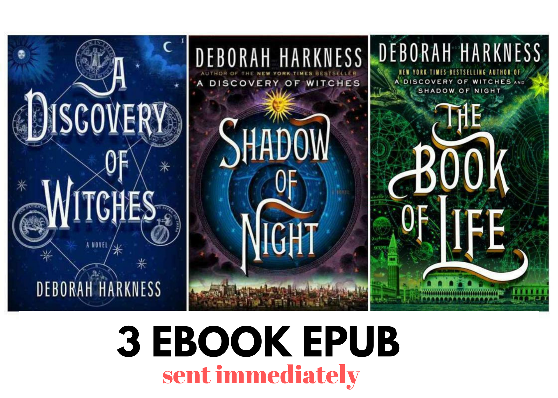 All Souls Trilogy Collection 3 By Deborah Harkness Books March Book A Discovery Of Witches