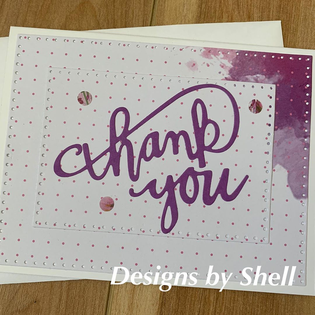 Designs by shell on instagram another pretty thank you