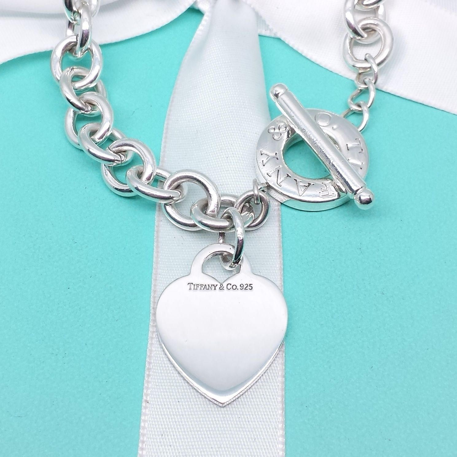 a6a421116 Beautiful Necklaces, Tiffany, Amp, Charmed, Popular, Heart, Sterling Silver,