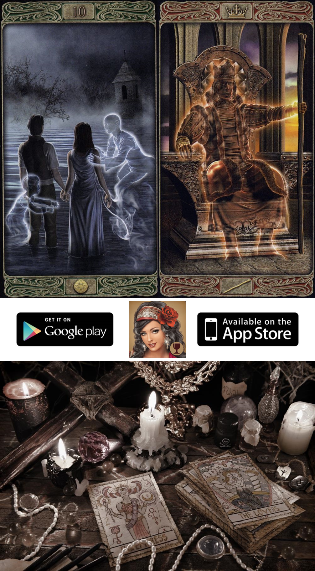get the free application on your phone or tablet and enjoy tarot get the free application on your phone or tablet and enjoy tarot for yourself tarot definition and freetarotreadings vintage tarot cards and one card solutioingenieria Gallery