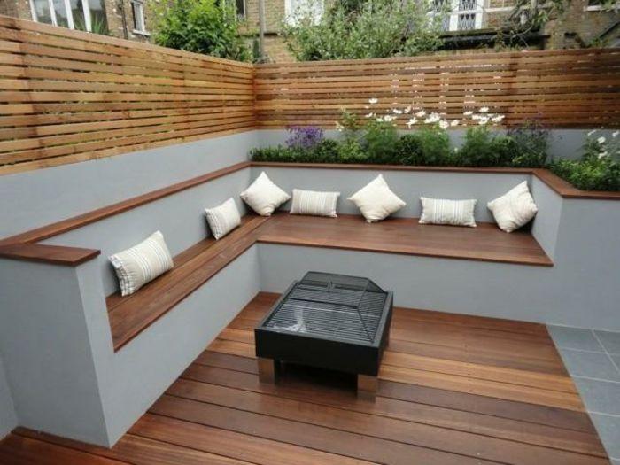 Natürlicher Garten Mit überdachter Sitzecke: 30 Gartengestaltung Ideen