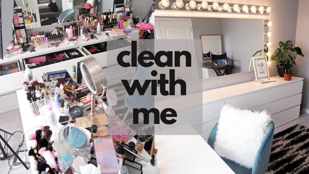 #makeup #makeupideas #makeuproomideas #makeuproomvanity #makeuproomorganization #makeuphacks  #vanity #vanitymirror #vanitymirror #makeupcollection #makeupcollectionbeautyroom #makeupcollectionorganization