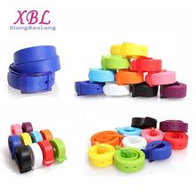 XBL fashion silicone rubber belt for man and women