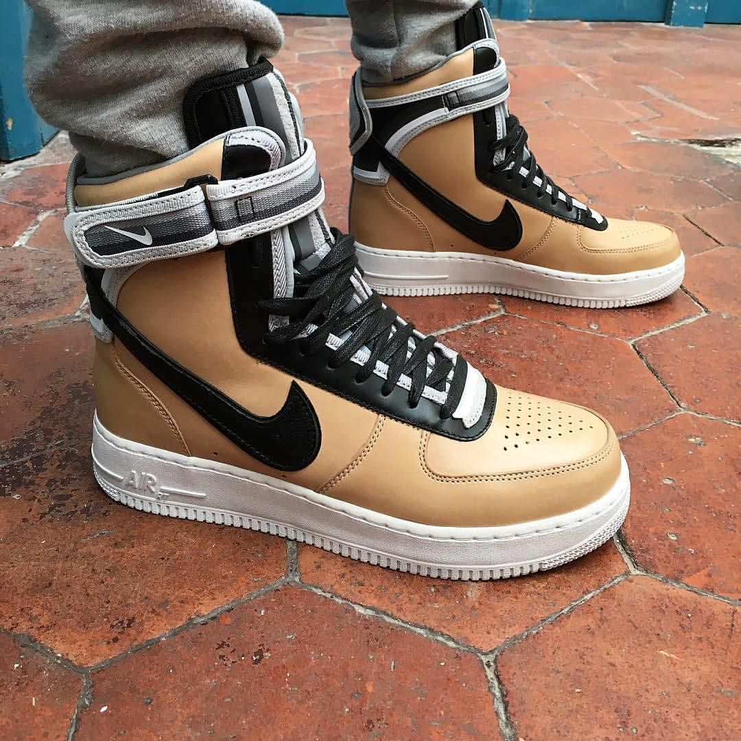Riccardo Tisci x Nike Air Force 1 High : @malikicks #WDYWT for on-feet  photos #WDYWTgrid for outfit lay down photos #mensfashion #kotd #Nike # Airforce1 ...