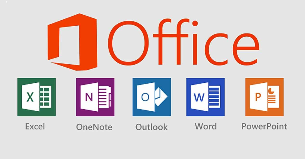 Office program comprises of apps like word, excel