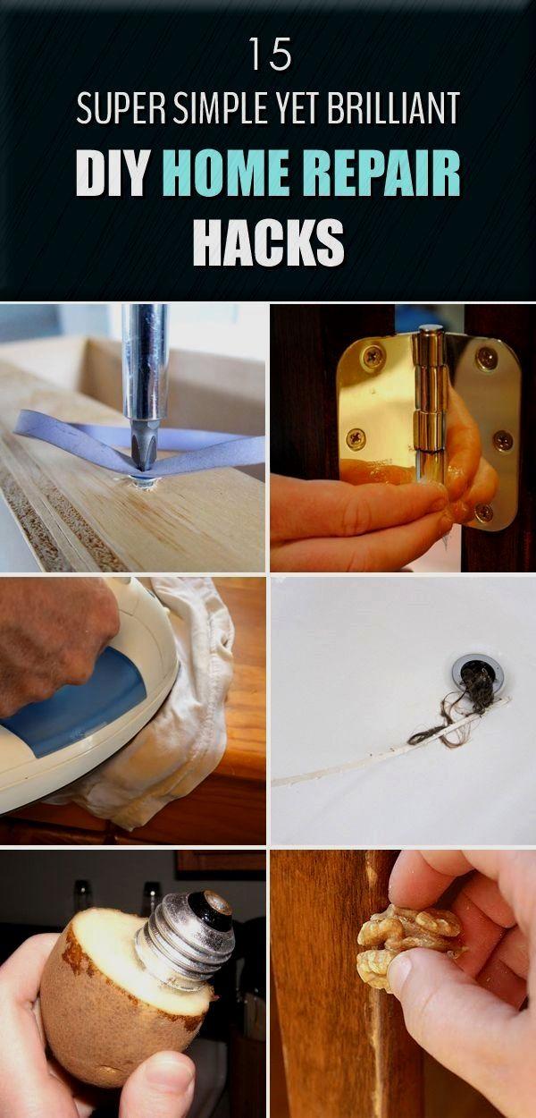 Photo of 15 Super einfache, aber brillante DIY Home Repair Hacks