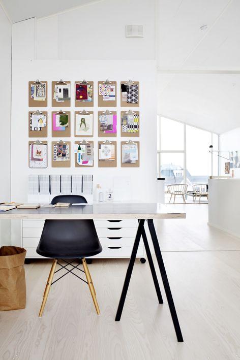 Scandinavian work space