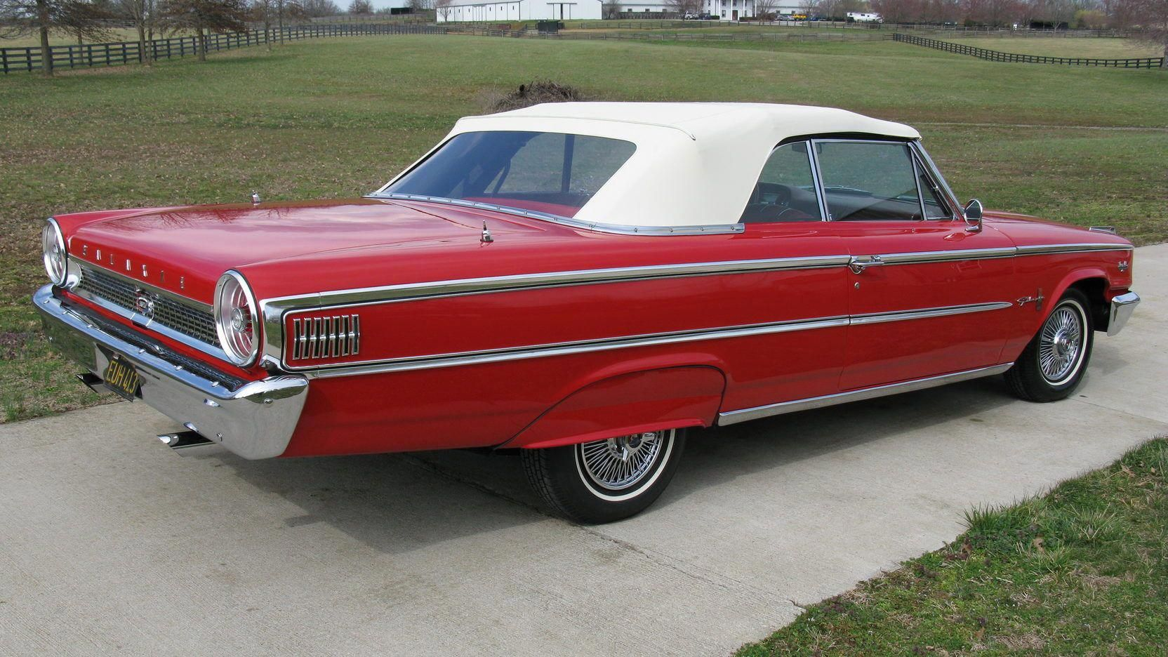 1963 Ford Galaxie 500 Xl Convertible Presented As Lot W352 At