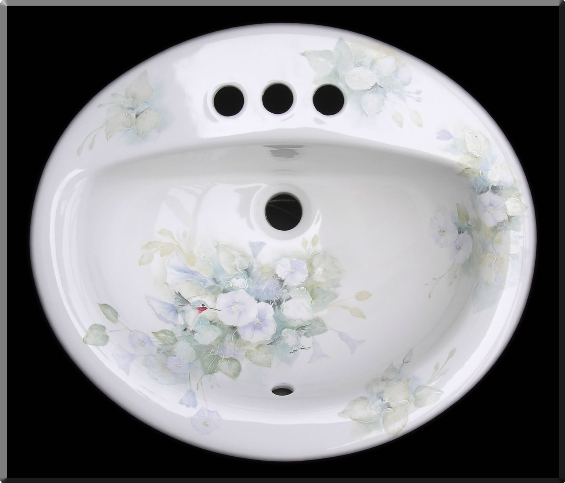Hand Painted Bathroom Sinks Bathroom Sink Bathroom