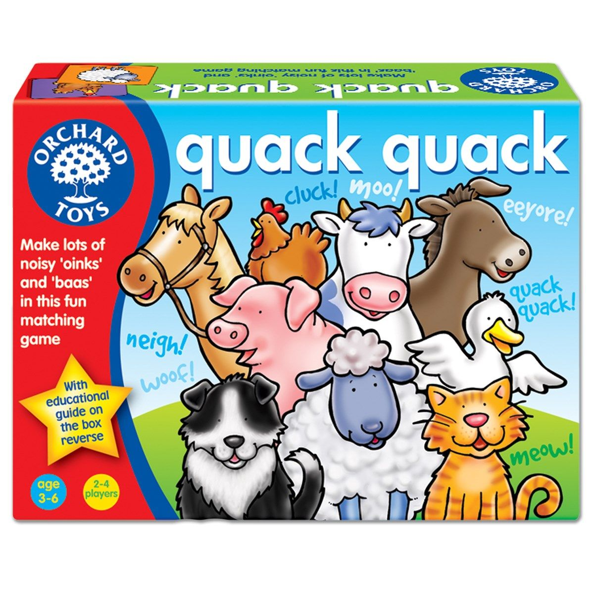 Quack Quack | Orchard toys, Fun learning games, Toddler fun