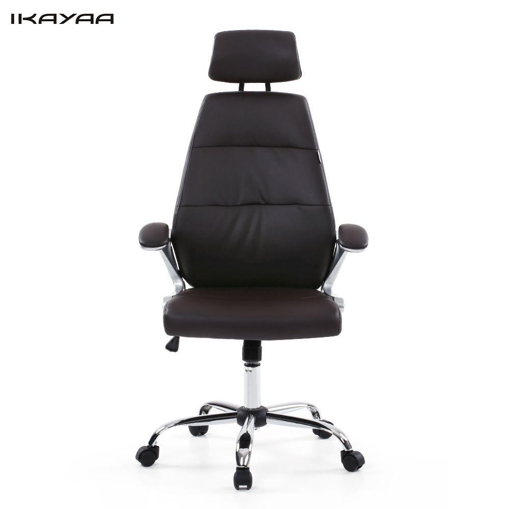ikayaa de fr stock bureau chaise reglable bureau executif chaise tabouret haute dos ergonomique pivotant ordinateur bureau meubles