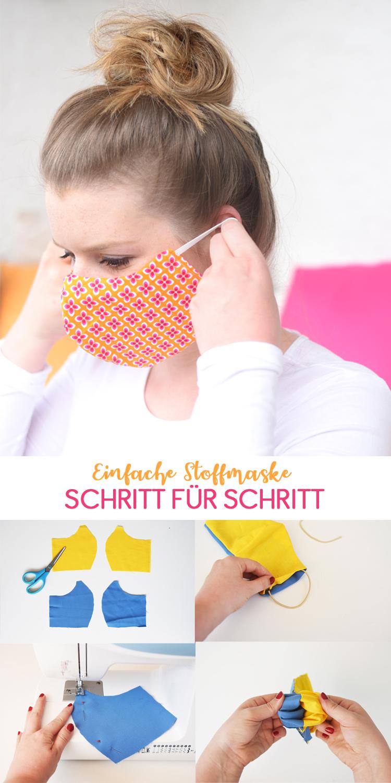 Photo of Stoffmaske einfach selber nähen: Eine Anleitung für einfache Behelfsmaske aus Stoffresten und Haargummi