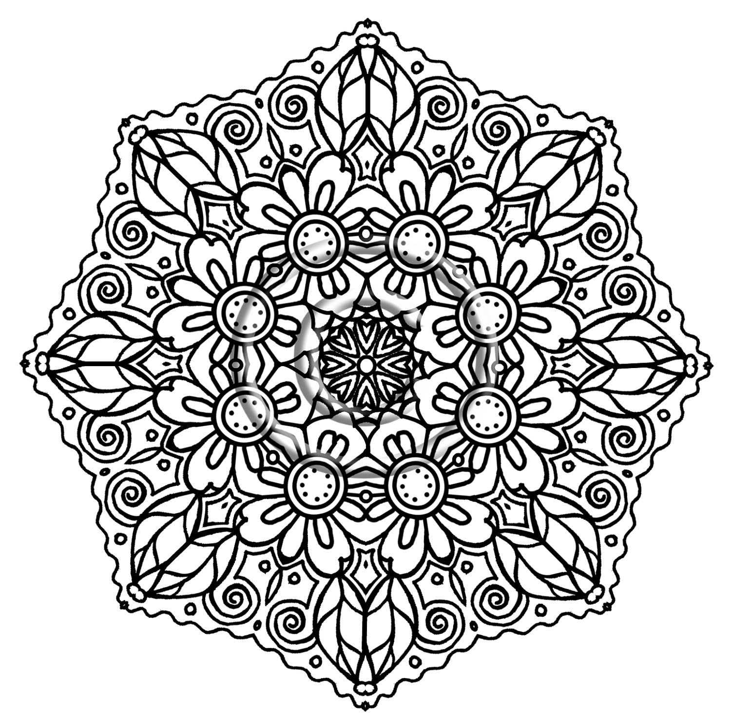 adult coloring pages intricate intricate mandala coloring pages design mandalas picture