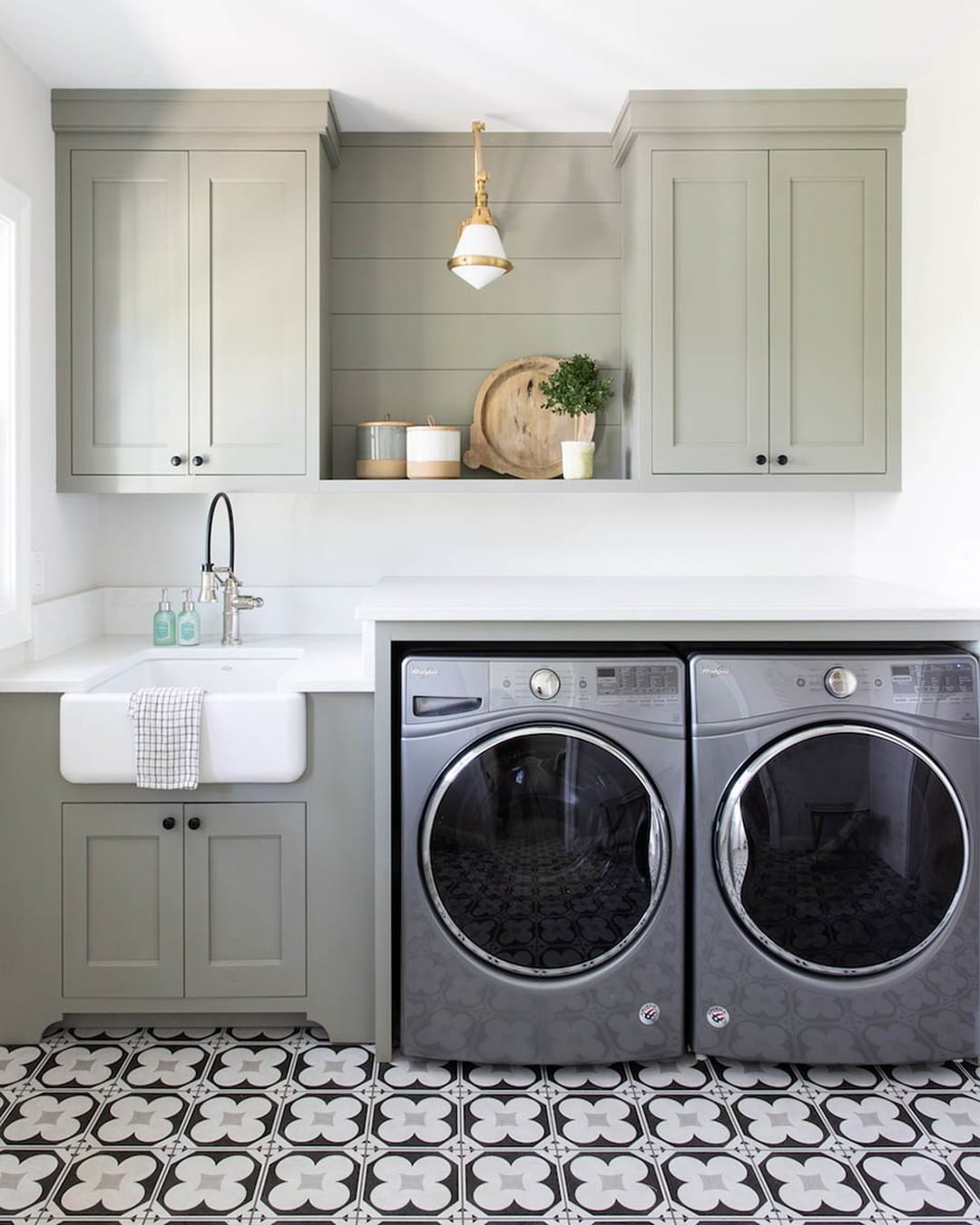This Newly Finished Laundry Room At Justkeepsmilinclient Makes