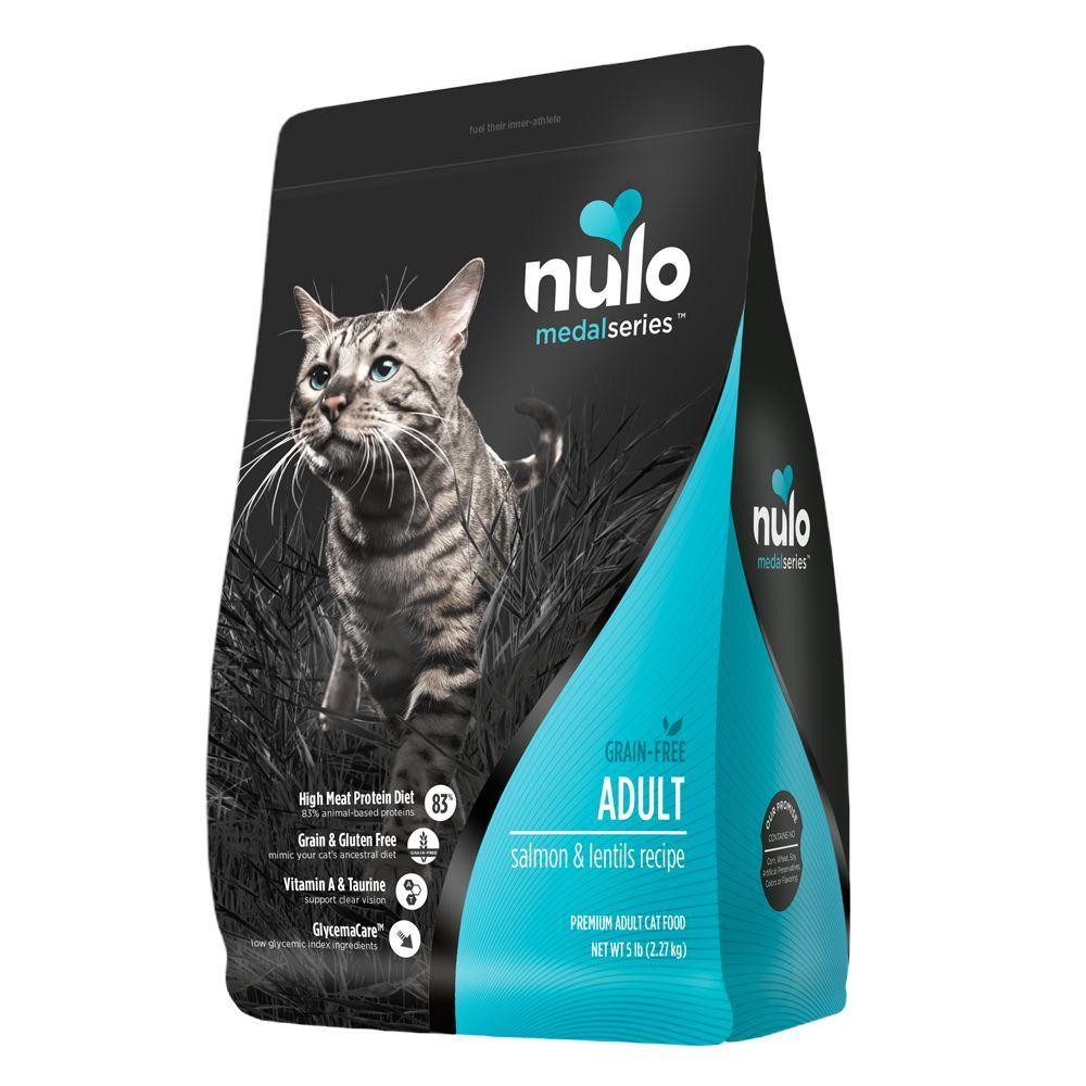 Nulo MedalSeries Adult Cat Food - Grain Free, Salmon & Lentils