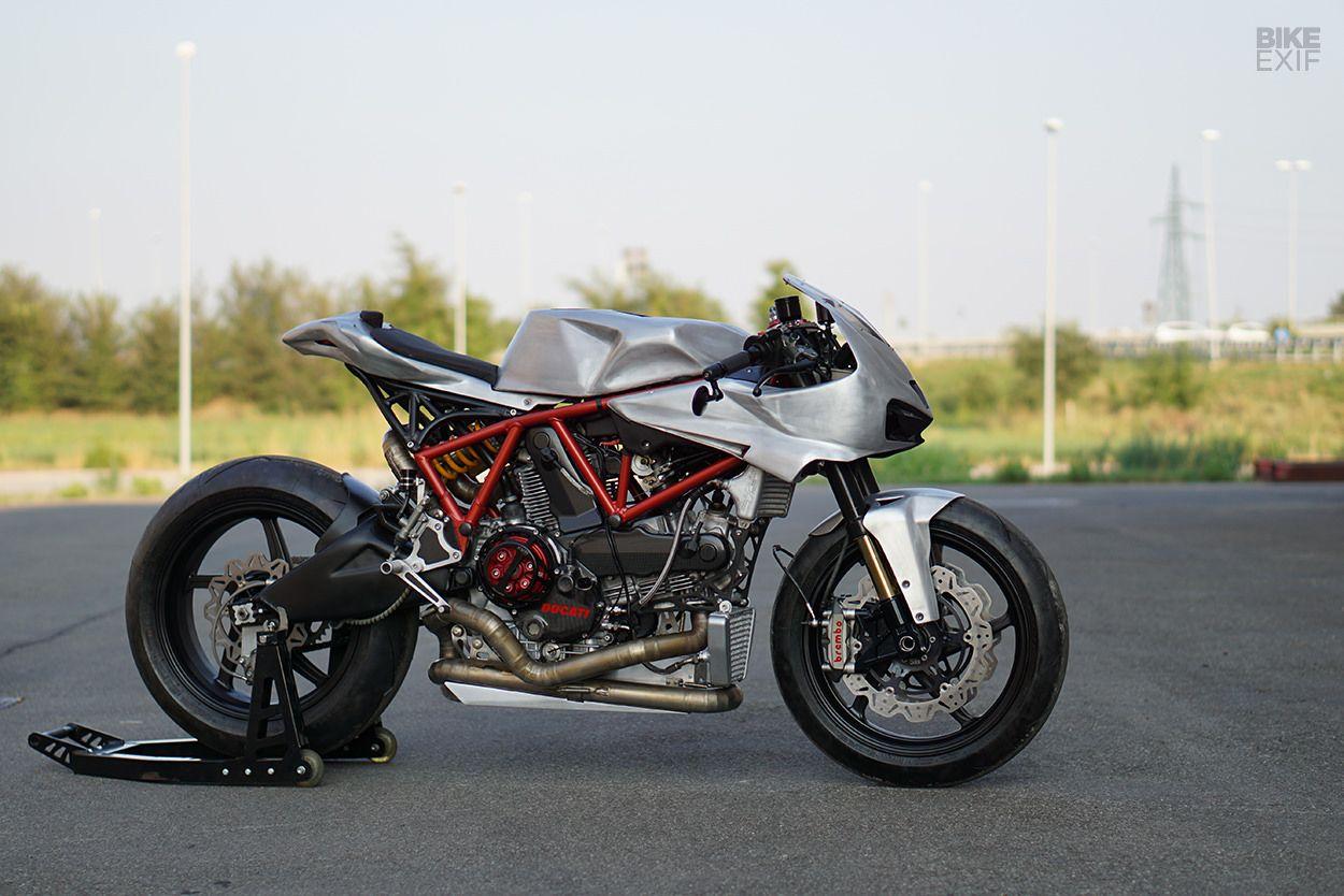 In The Raw Simone Conti S Ducati Cafe Fighter Ducati Ducati