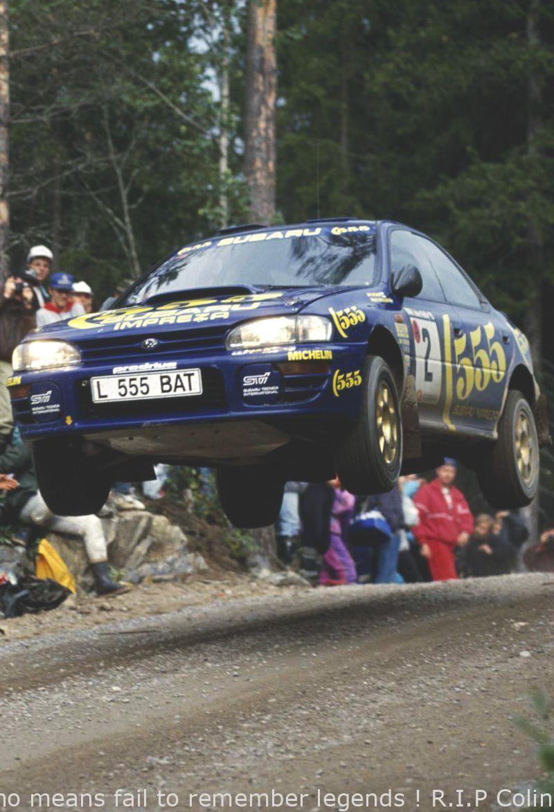By no means fail to remember legends ! R.I.P Colin McRae (Subaru Impreza 555) - raw | Fortill