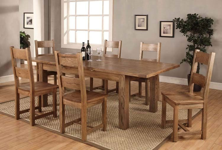 oak dining table and chairs with purple heart welsh slate insert room solid picclick | Home Design | Pinterest | Oak dining table Slate and Dining room ... & oak dining table and chairs with purple heart welsh slate insert ...