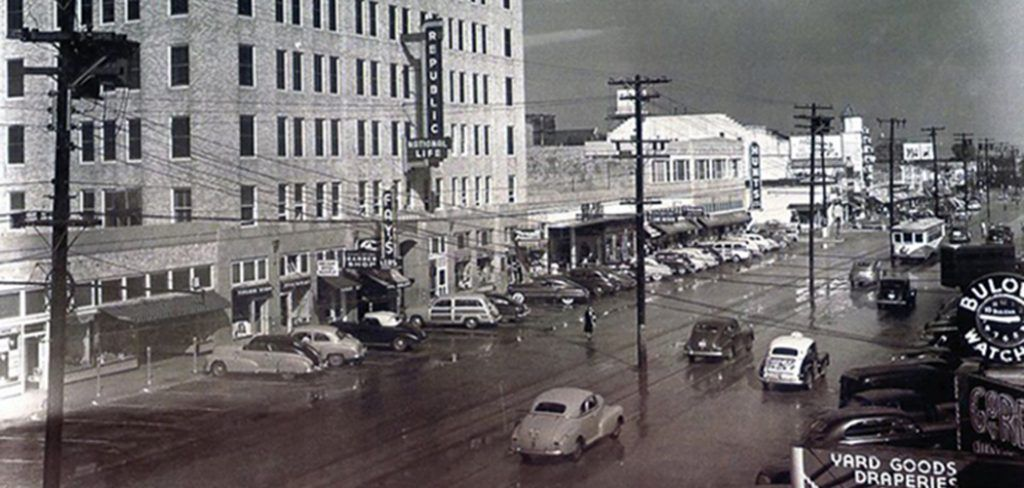 Shopping On The Boulevard When Oak Cliff Had Department Stores Boulevard Dallas Fort Worth Dallas