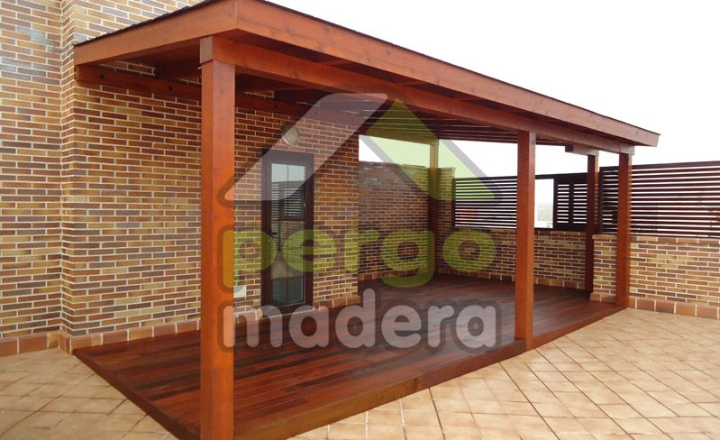 Su porche de madera con la mejor calidad garant a y precio en tiempo record y sin necesidad de Mejor madera para exterior
