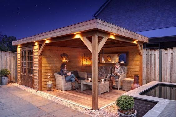undefined Backyard patio, Backyard, Backyard patio designs
