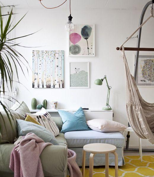 ikea deutschland so richtest du ein kleines wohnzimmer. Black Bedroom Furniture Sets. Home Design Ideas